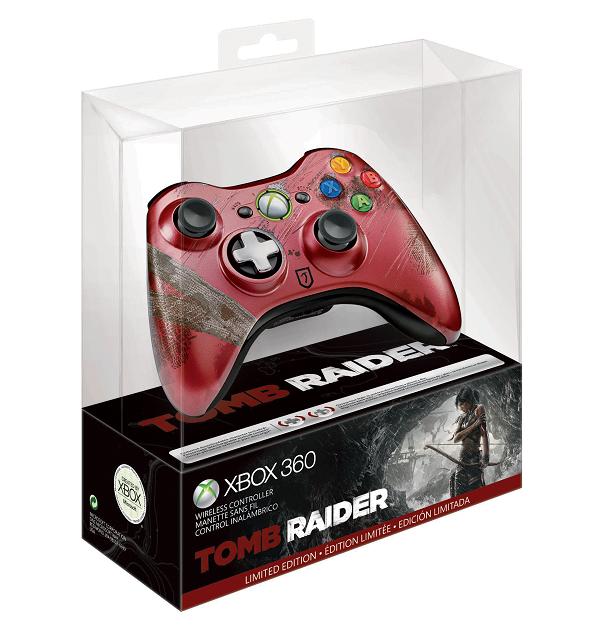 S Dado A Conocer El Control Inalambrico Edicion Limitada De Tomb Raider Para Xbox 360 Ladrones De Tumbas Tomb Raider Xbox 360 Controller
