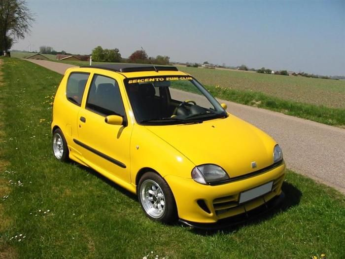 fiat seicento fiat pinterest fiat cars and wheels. Black Bedroom Furniture Sets. Home Design Ideas