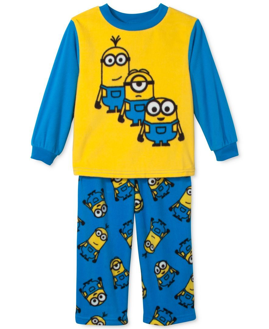 Despicable Me Boys 2T-4T 2-Piece Brothers Pajama Set