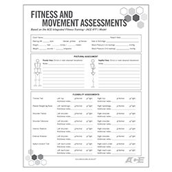 Fitness  Movement Assessment Form  Fitness Programs Personal