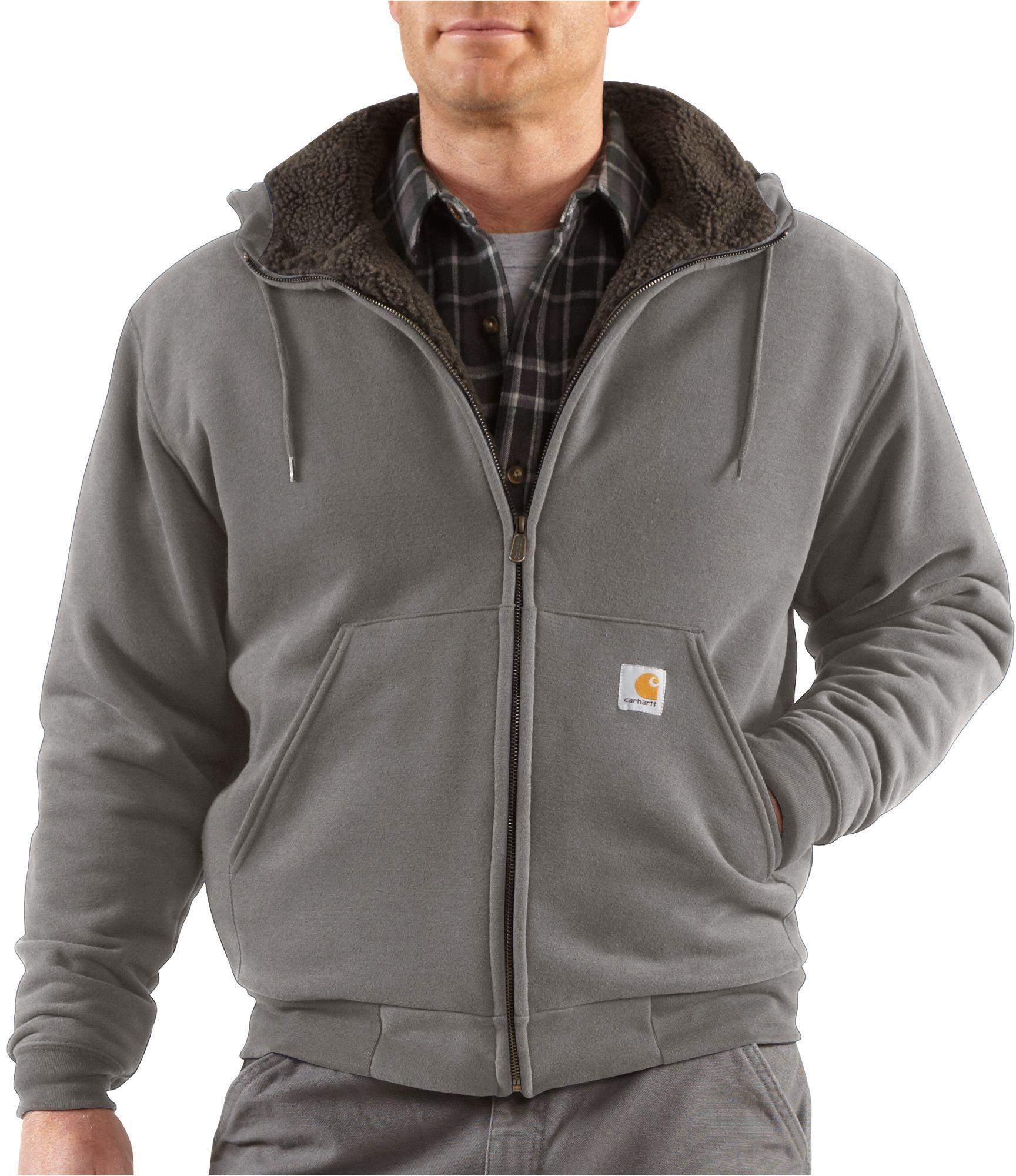8abcd469c24 Carhartt Men s Brushed Fleece Jacket