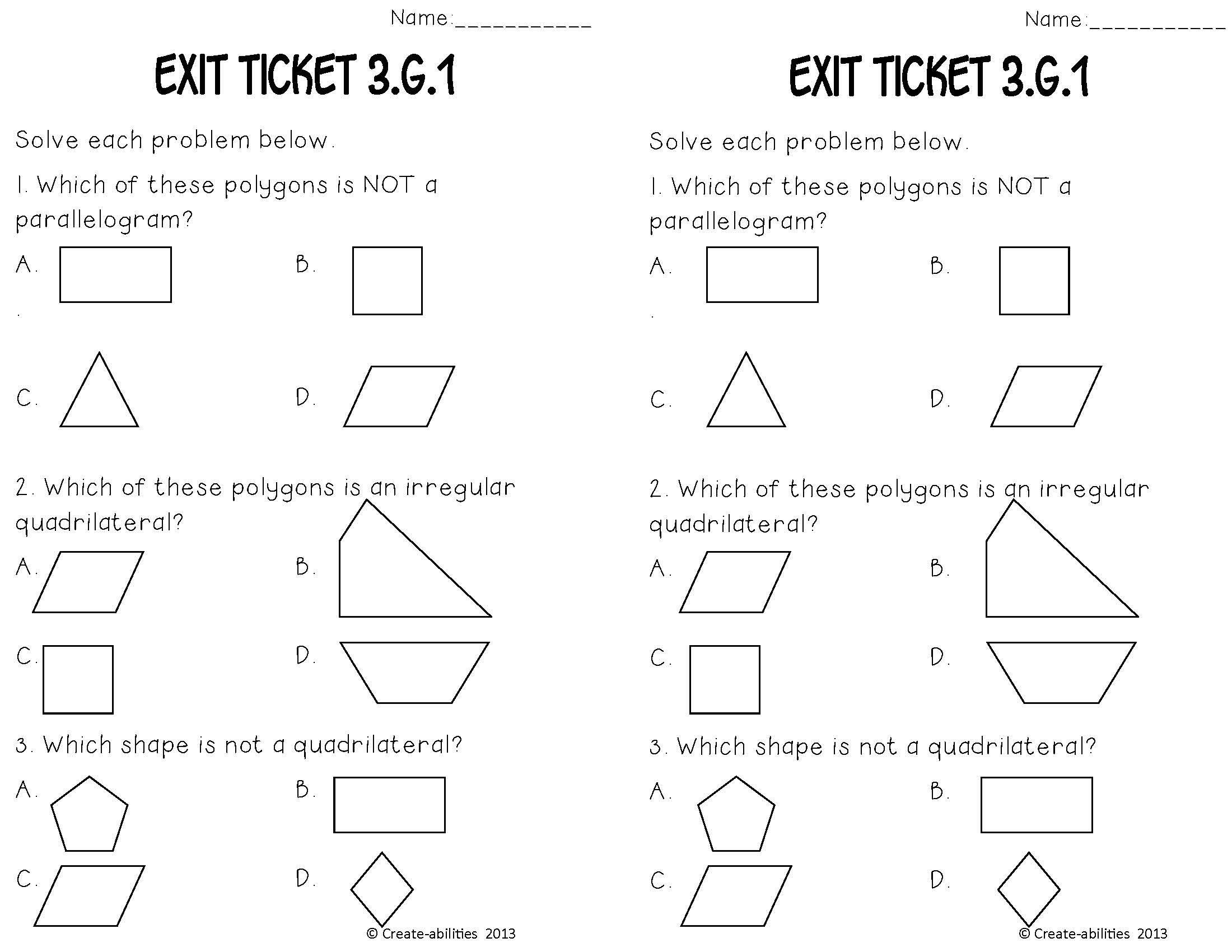 Merged 3 G 1 2 Set Page 13 Math Tasks Math Geometry Create Abilities