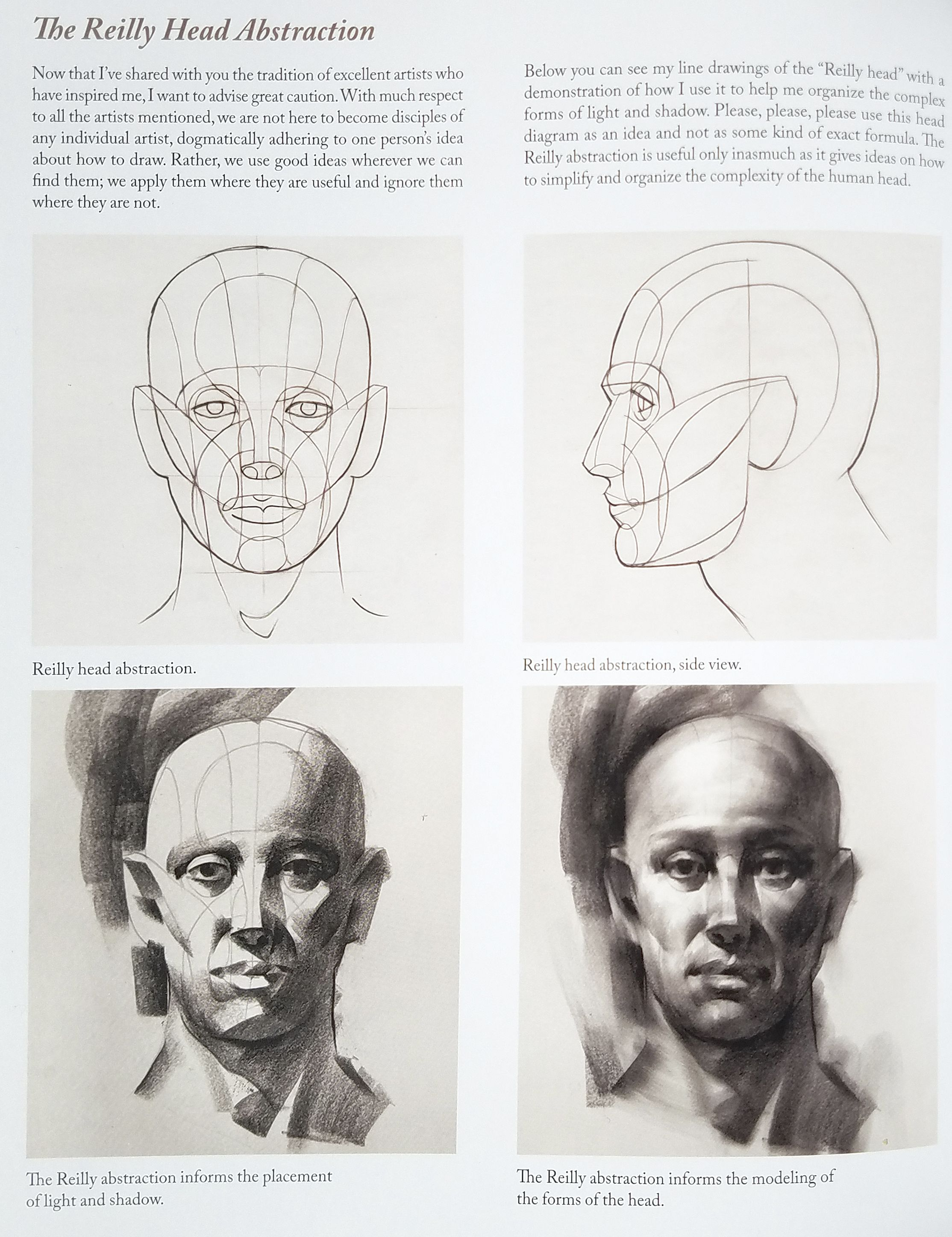 Reilly Head Abstraction Method By Nathan Fowkes | Reilly Method ...