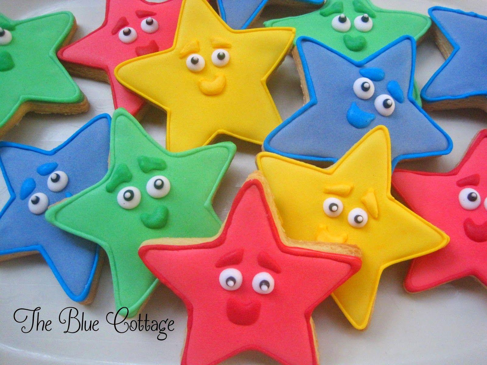 Dora the Explorer Star cookies