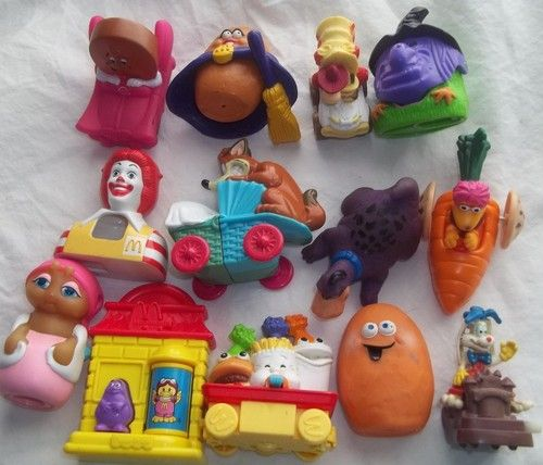 Dairy Queen Toys : Mcdonalds vintage toy lot dairy queen fraggle rock nugget