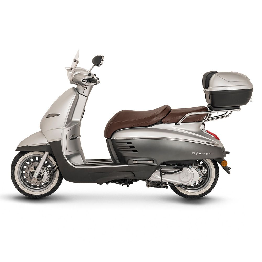 django allure 125cc retro vintage style scooter scooter. Black Bedroom Furniture Sets. Home Design Ideas