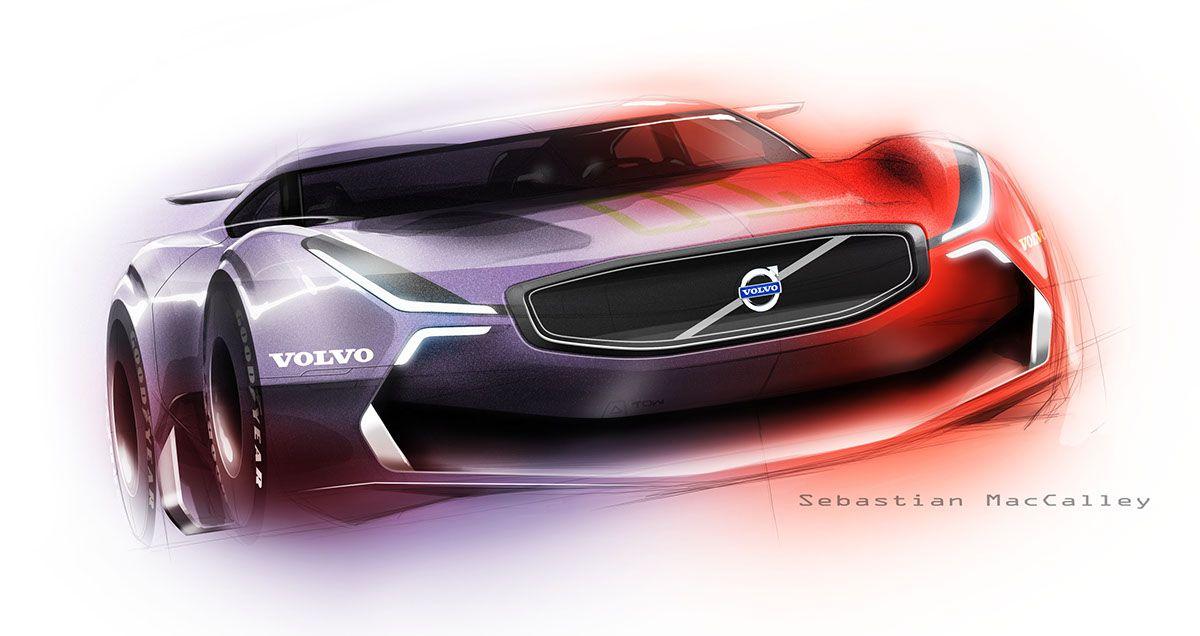 Volvo Sketch on Behance