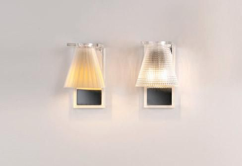 Kartell light air ka e noir cristal architettura e design