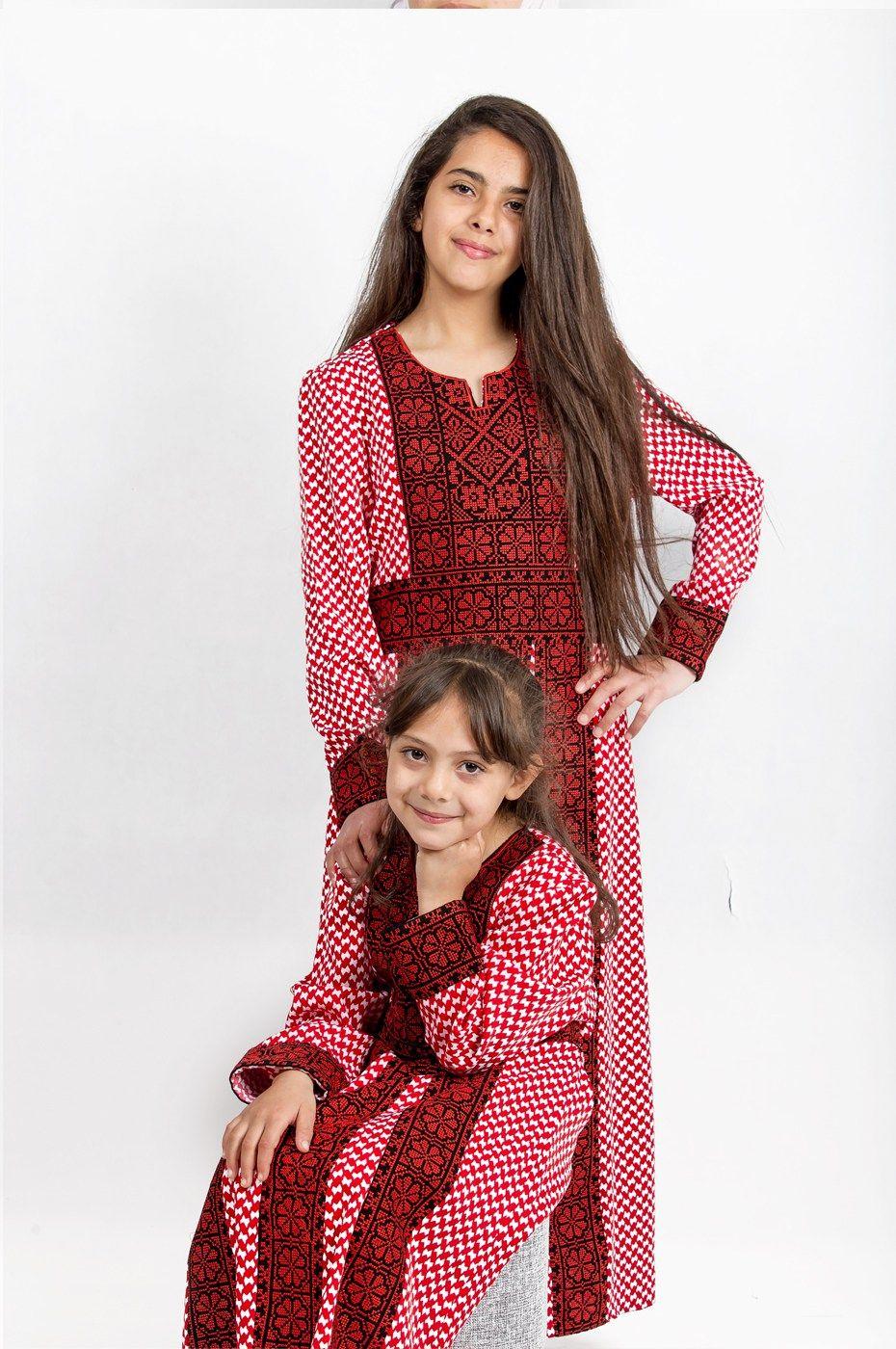 جلابية بناتي الشماغ الأردني متجر السندس Fashion Style Vintage
