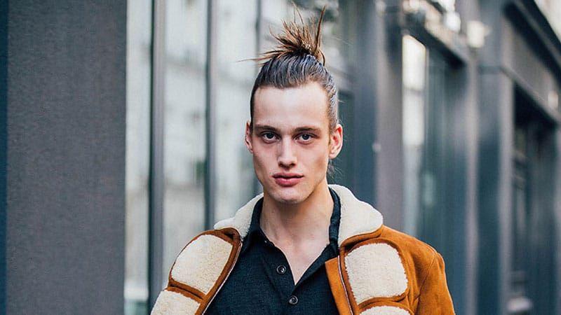 Spiked Man Bun Man Bun Hairstyles Bun Hairstyles Man Bun