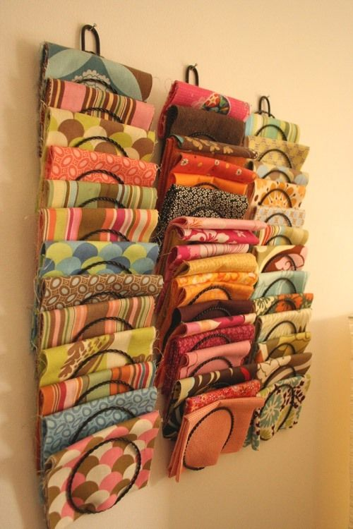 15 Super Simple Ways To Organize Scarves Organize Fabric
