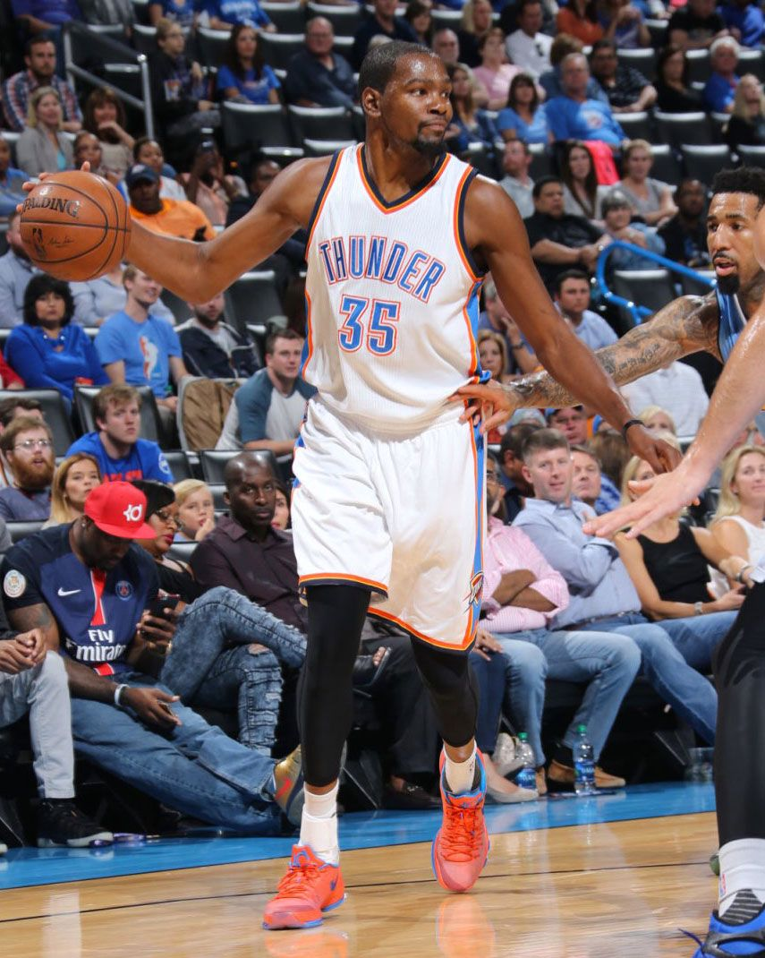 a1398a62181 SoleWatch: Kevin Durant Debuts a 'Creamsicle' Nike KD 8 | NBA Sole ...