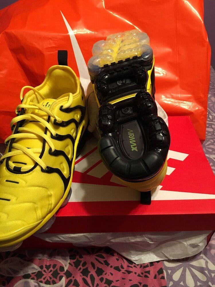 dc5e740cb5 NIKE AIR VAPORMAX PLUS OPTI YELLOW/BLACK SIZE 10 #fashion #clothing #shoes # accessories #mensshoes #athleticshoes (ebay link)
