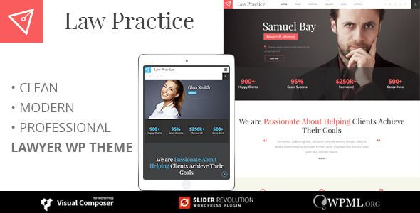 LAW PRACTICE v3.3 Lawyer Responsive Business Theme Blogger Template ...