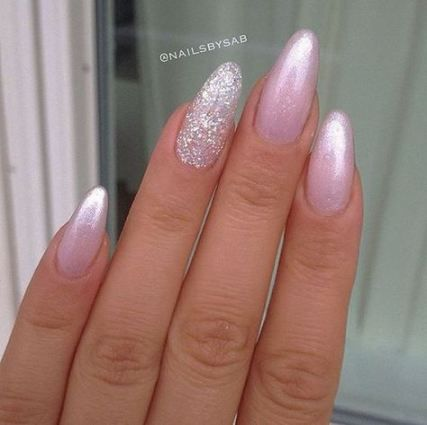 42 ideas nails acrylic almond pastel for 2019 nails