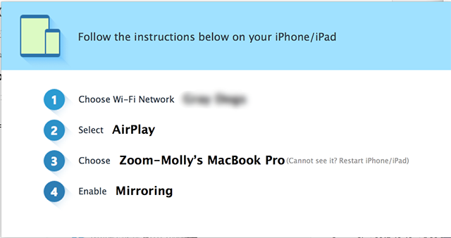 Ios Screen Sharing With The Zoom Desktop Client Zoom Help Center Screen Mirroring Zoom Zoom Screen