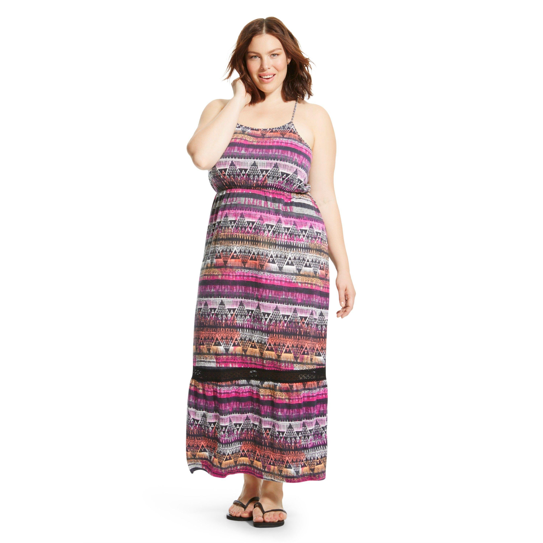 Plus Size Maxi Dress Purple Mossimo Supply Co Plus Size Maxi Dresses Maxi Dress Dresses [ 3000 x 3000 Pixel ]