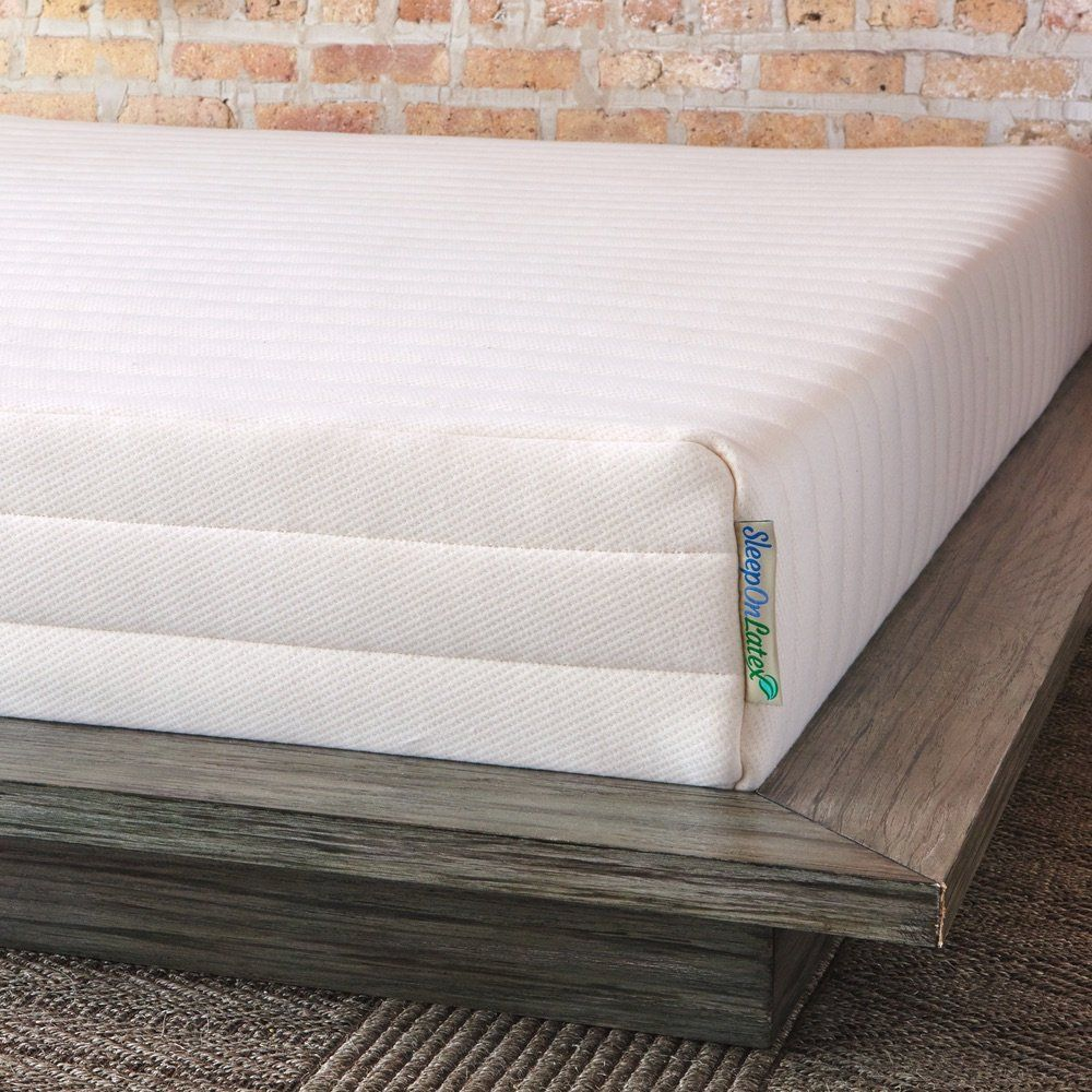 pure green natural latex mattress medium firmness queen