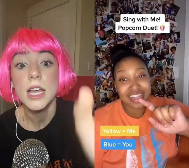 Pin By Jasmine On Tik Tok Video The Voice Videos Cool Music Videos Singing Videos