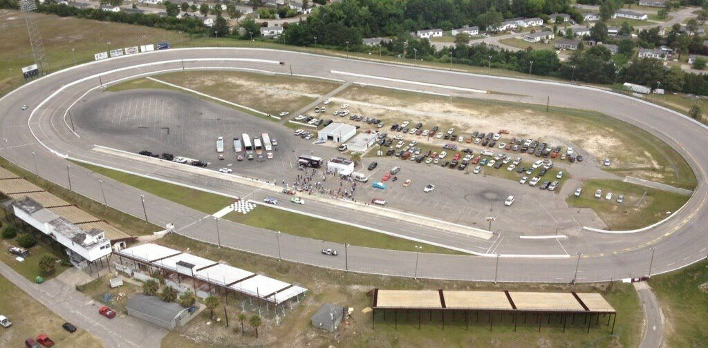 Myrtle Beach Speedway Pictures After Being Paved