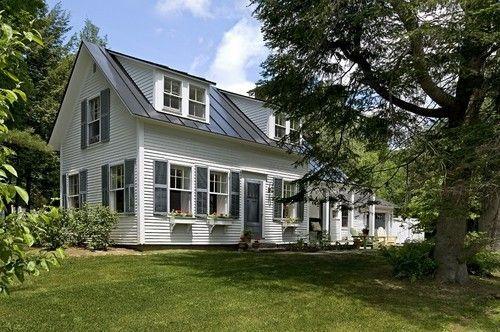 Picturesque Antique Cape w/ Stunning Interior Design (HQ Pictures)   Metal Building Homes