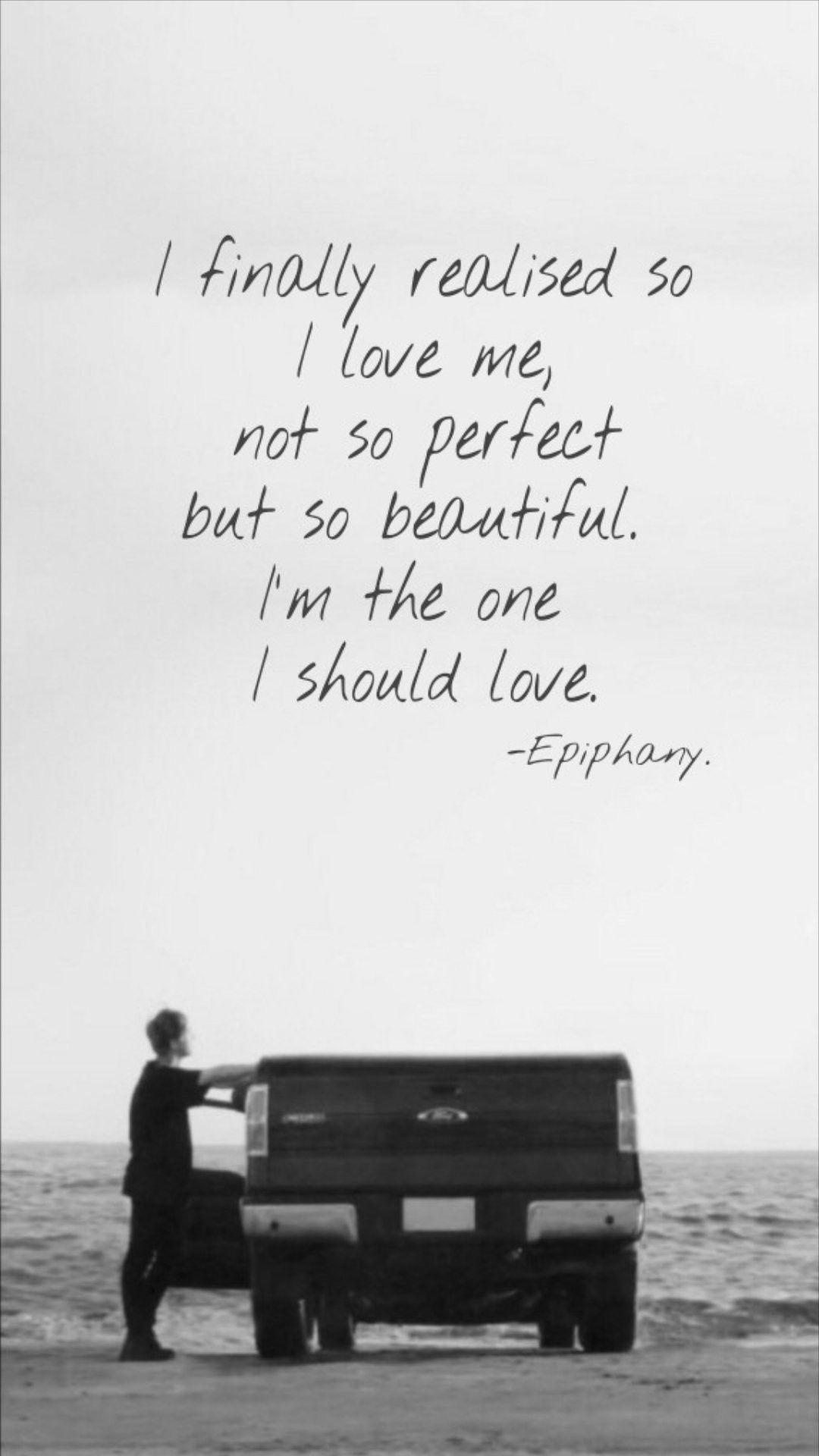 Jin epiphany lyrics english