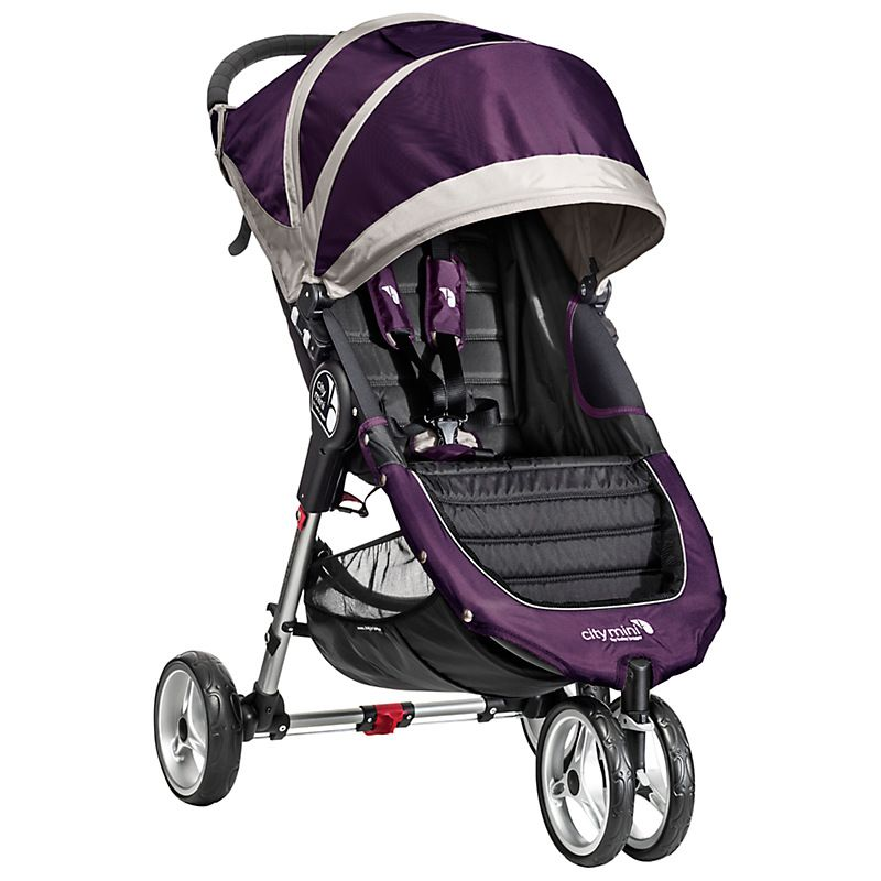 Buy Baby Jogger City Mini 3-Wheeler, Purple/Grey | John ...