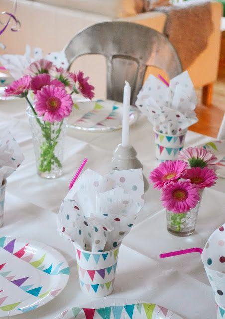 Silje's blog: Verjaardagsfeestjes