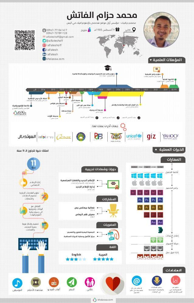نتيجة بحث الصور عن سيرة ذاتية انفوجرافيك Cv Infographic Cv Template Free It Cv