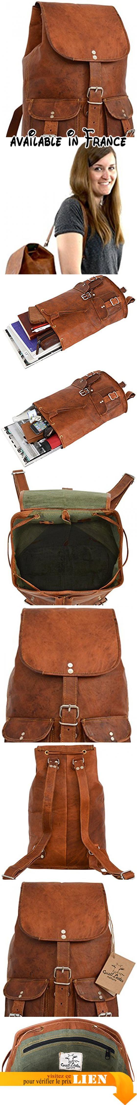 5e72860d0e B008ECYEFI : Gusti Cuir nature Gary 13 sac à dos en cuir backpack bagage à  main