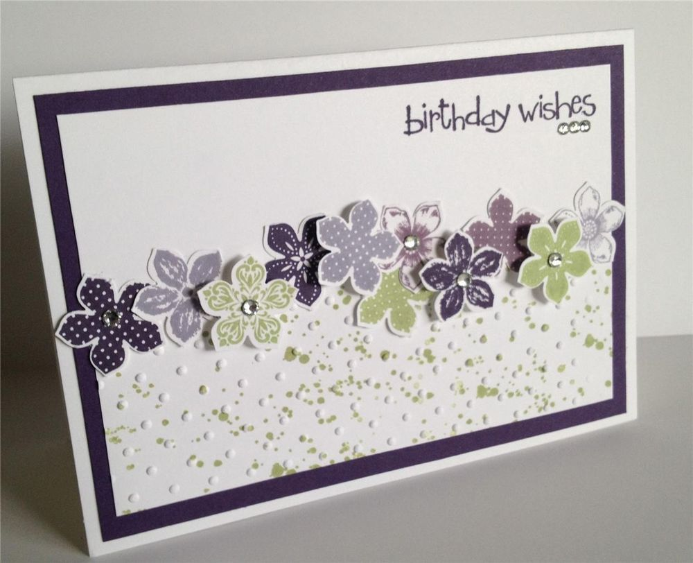 Handmade Birthday Card - Stampin Up