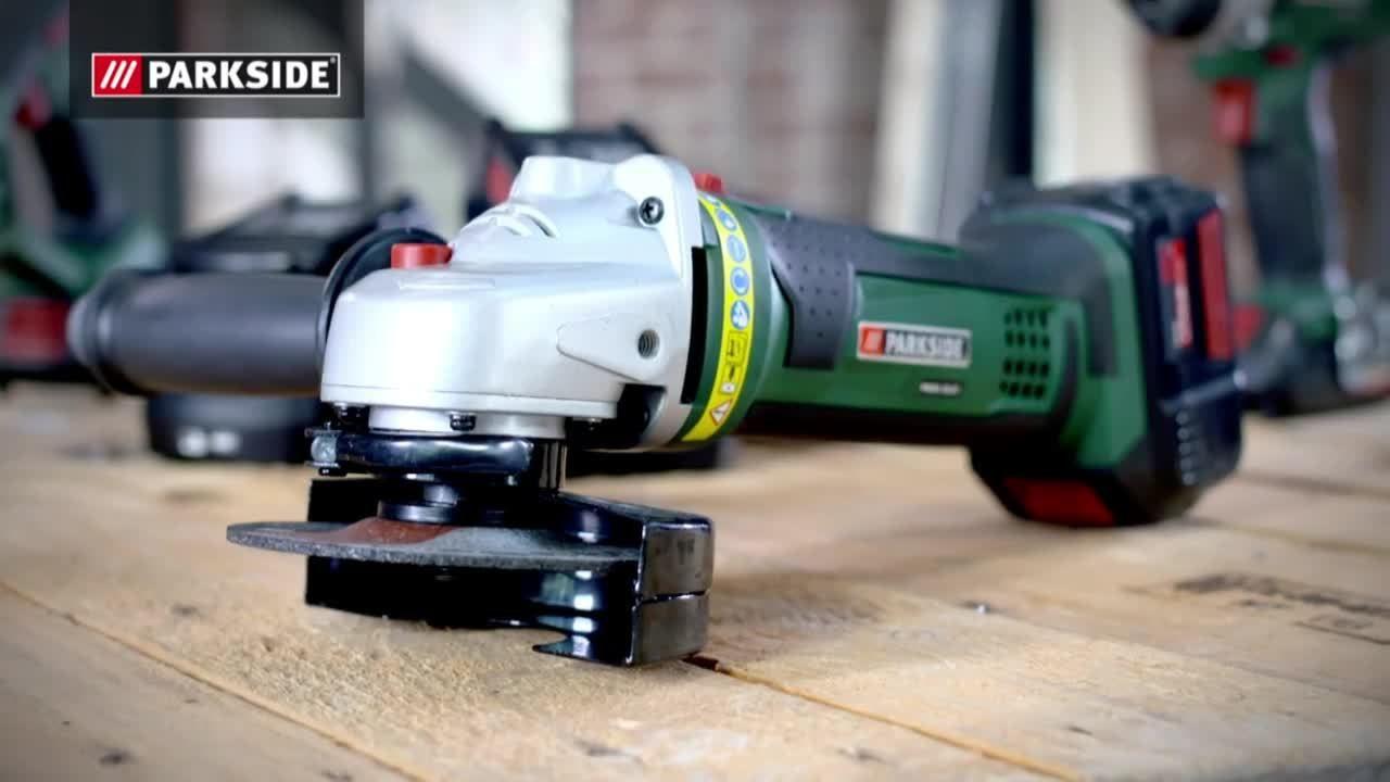 akku winkelschleifer pwsa 18 a1 104454 power tools. Black Bedroom Furniture Sets. Home Design Ideas