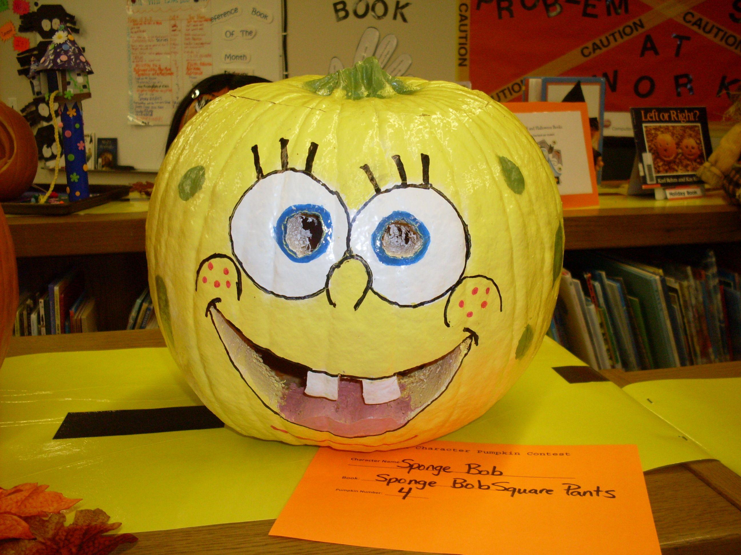 Book Character Pumpkin Decorating Contest We Know How To Do It Book Character Pumpkins Pumpkin Decorating Pumpkin Decorating Contest