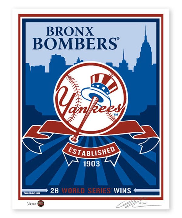 New York Yankees World Series Wins Print New York Yankees Yankees Yankees World Series