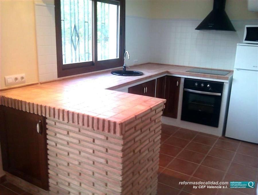 Modelos De Cocinas En Ceramica Estamos Acostumbrados A Ver Todos Los Ambientes De La Casa En Su Sitio Modelos De Cocinas Cocina Empotrada Decoracion De Cocina