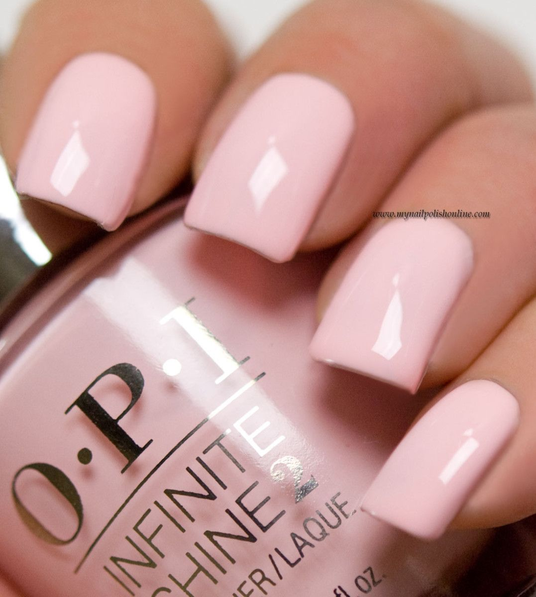 Pink Nail Polish Mini: OPI - Pretty Pink Perseveres