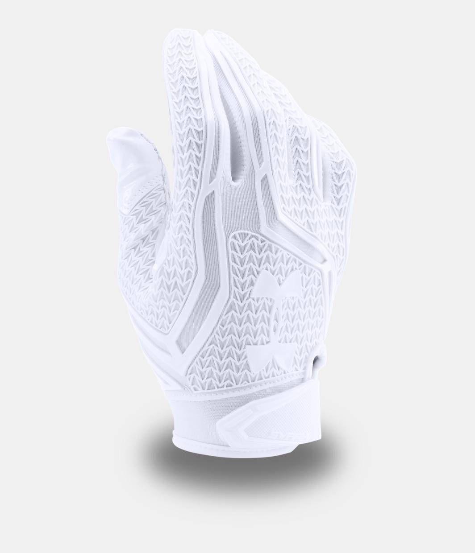 Men S Ua Swarm Ii Football Gloves Under Armour Us Football Gloves American Football Cleats Custom Football Gloves