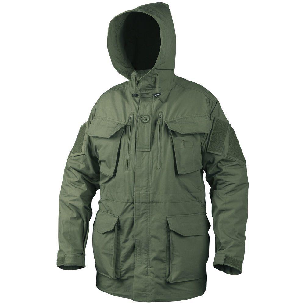 Helikon Military Pcs Smock Windproof Mens Jacket Cadet Hunting Parka Olive Drab Combat Clothes Mens Jackets Parka [ 1000 x 1000 Pixel ]
