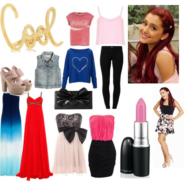 """""""ariana grande"""" by janelle-frosthagen on Polyvore"""