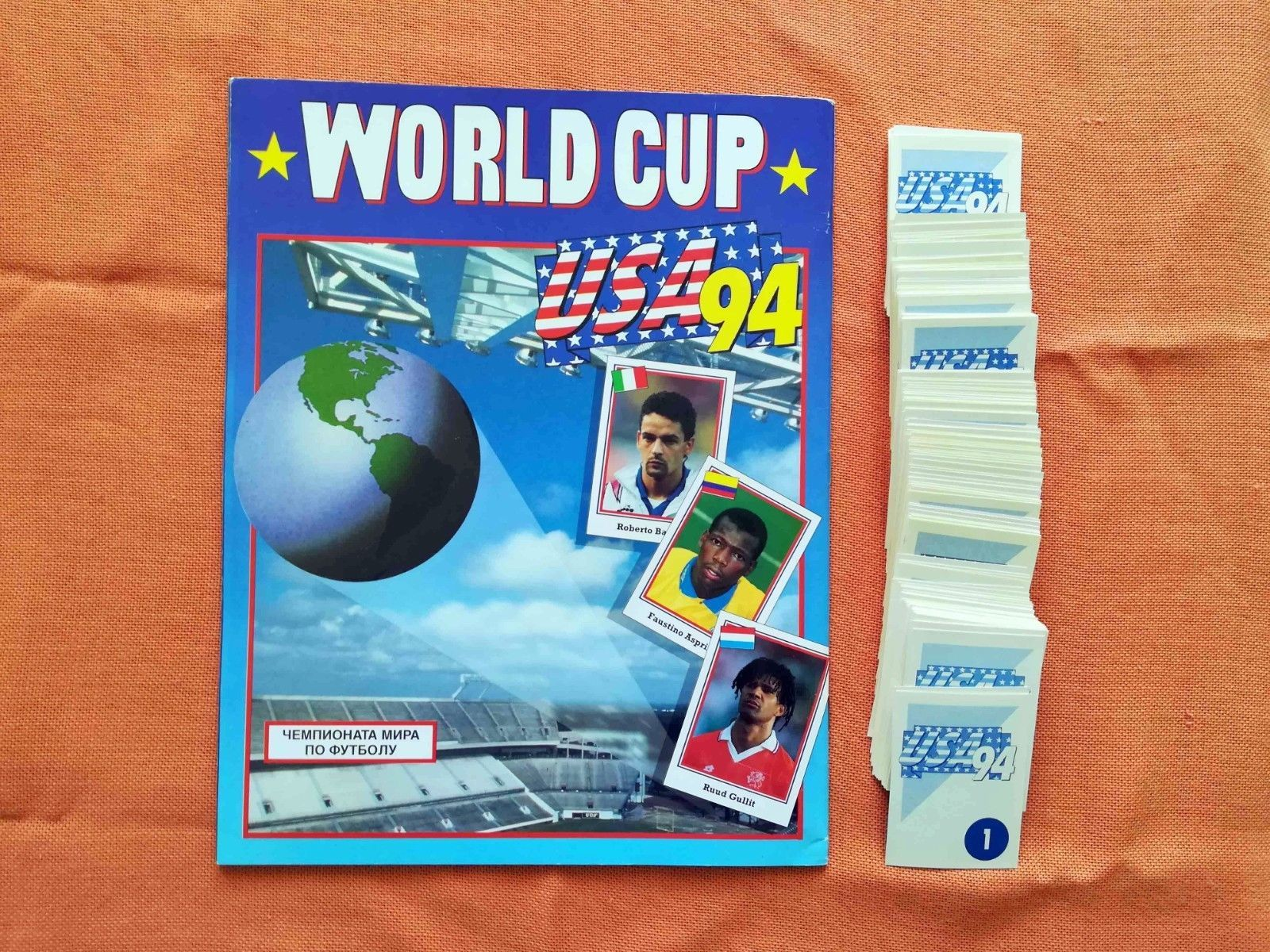 World Cup 1994 Usa 94 Fifa Album And Complete Set 1 420 Stickers Euroflash Broca Ebay World Cup Stickers Album