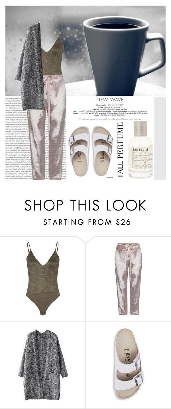 """""""Le Labo Santal 33"""" by martso ❤ liked on Polyvore featuring beauty, Rosie Assoulin, Birkenstock, Le Labo, contestentry, fallbeauty, fallperfume and fallscent"""