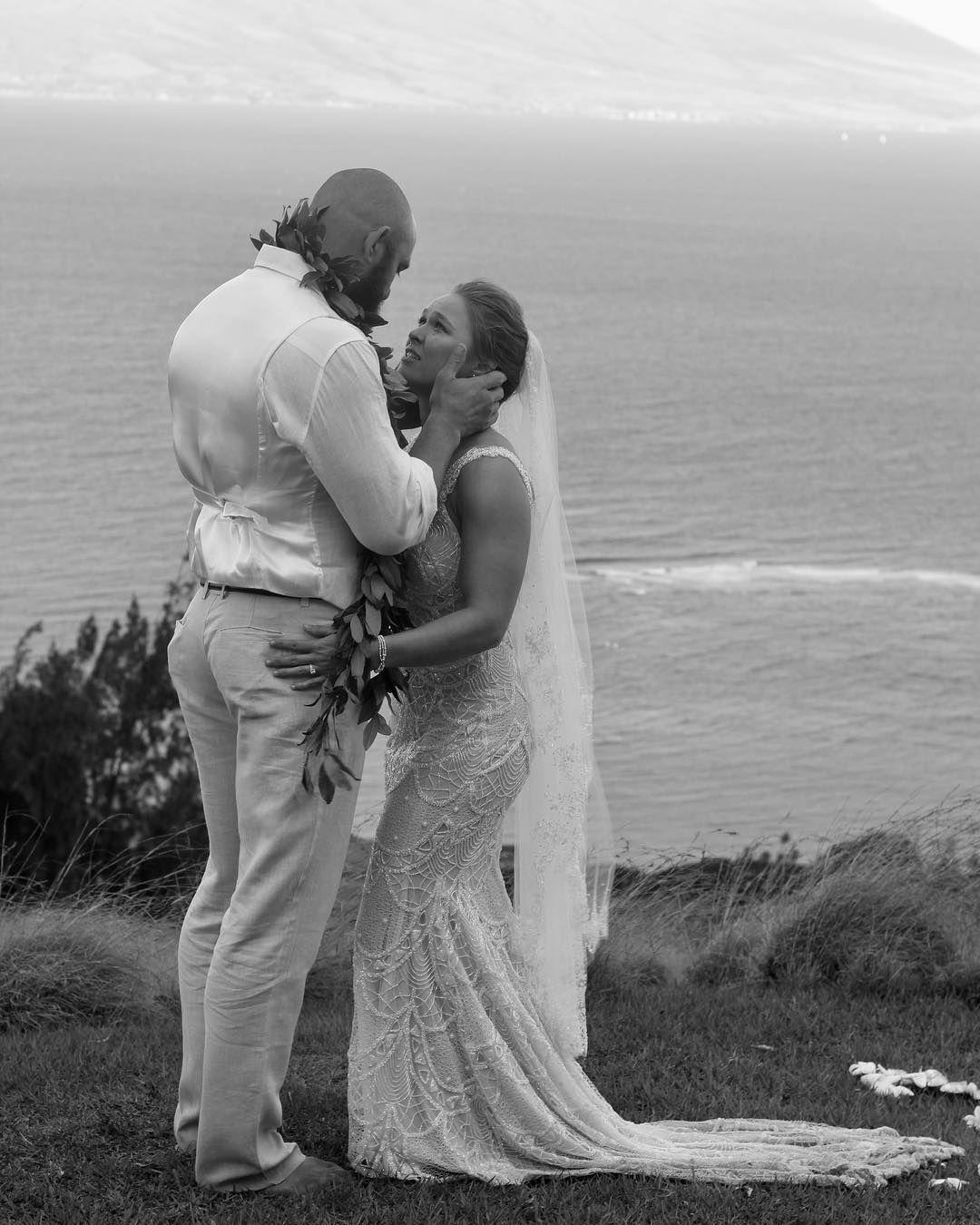 Pin By Berenjy Brands On Ronda Rowdy Rousey Wedding Wedding