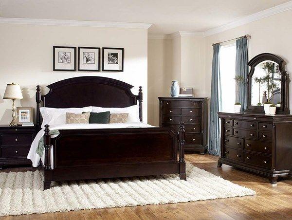 Inglewood Traditional Espresso Wood Master Bedroom Set   Master ...