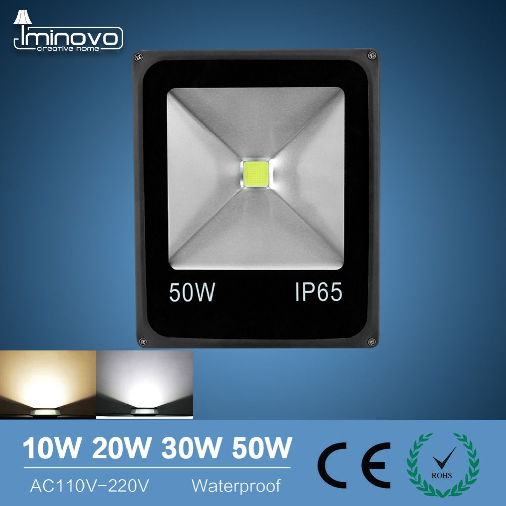 Led Flood Light Outdoor Spotlight Floodlight 10w 20w 30w 50w Wall Washer Lamp Reflector Ip65 Waterproof Garden 220v Rgb Lighting Led Flood Lights Led Flood Flood Lights