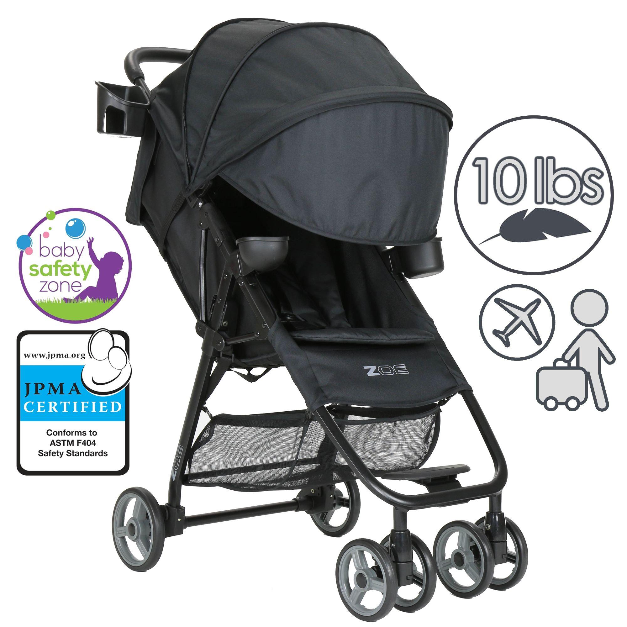 Zoe Trip Stroller Compact Travel Stroller with Umbrella