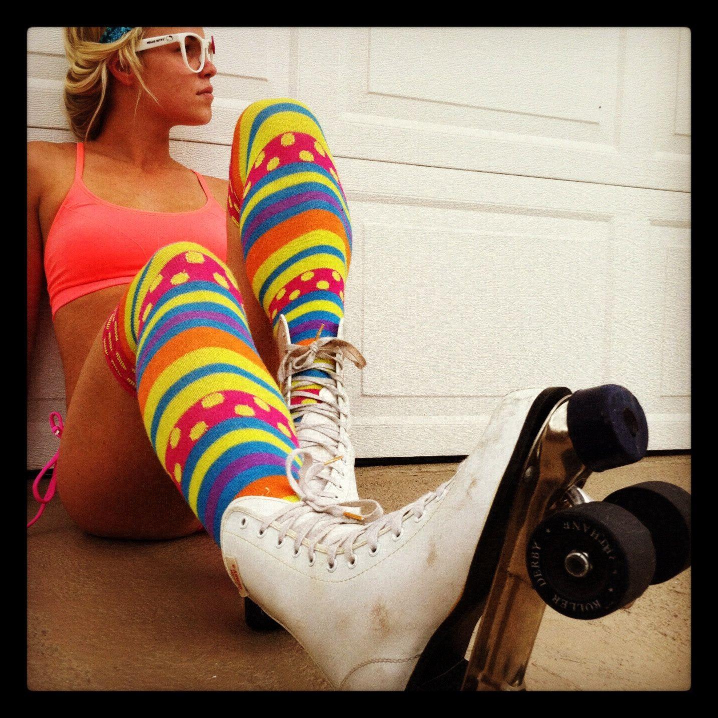 Roller skates in the 70s -