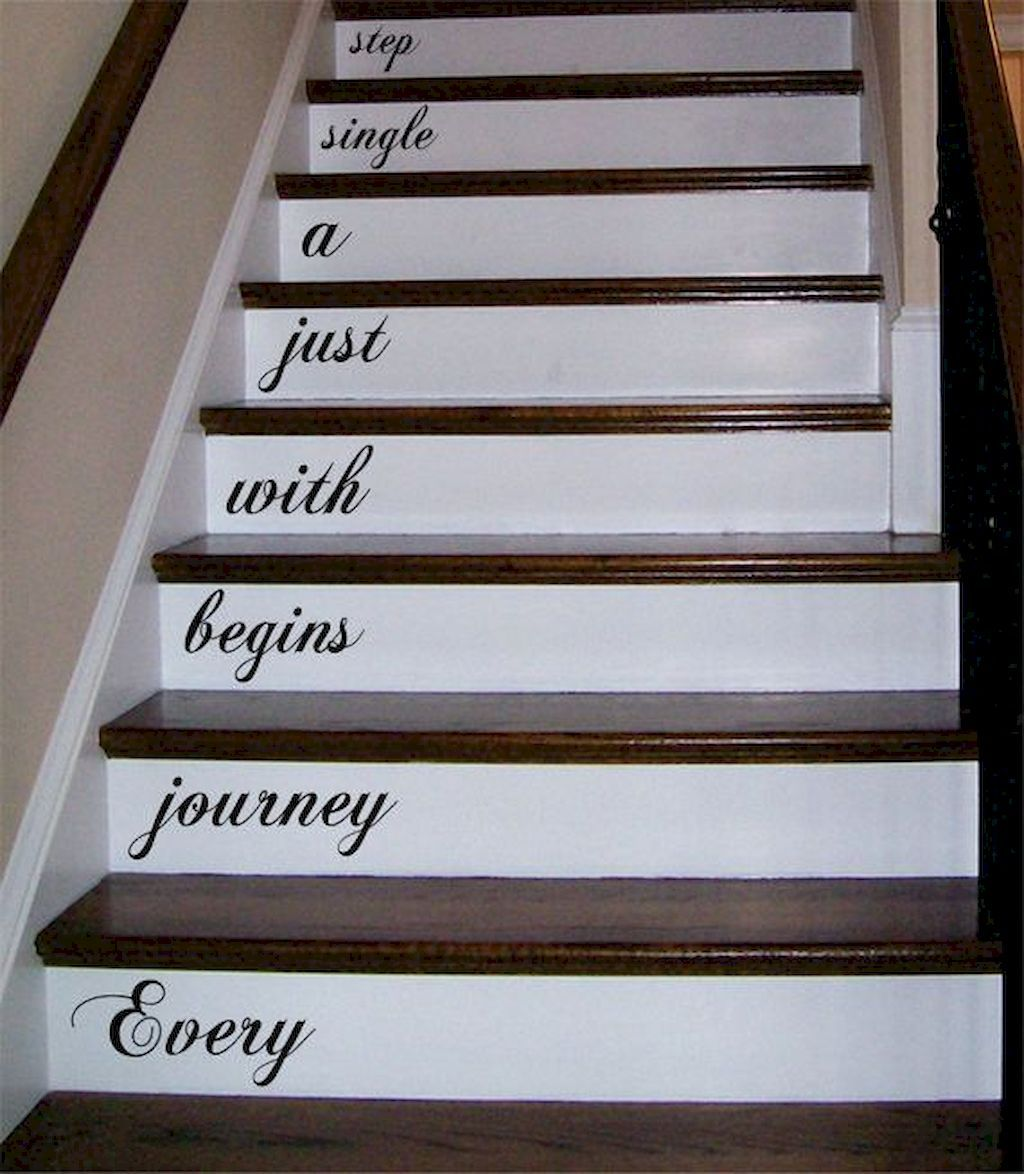 80 Modern Farmhouse Staircase Decor Ideas: 80 Awesome Modern Farmhouse Staircase Decor Ideas