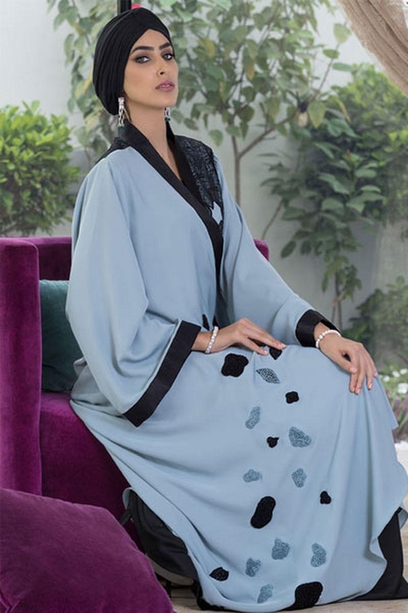 عبايات سوداء مطرزة بالذهبي صور عبايات 2014 خليجية سهرة Black Fashion Islamic Fashion Clothes For Women