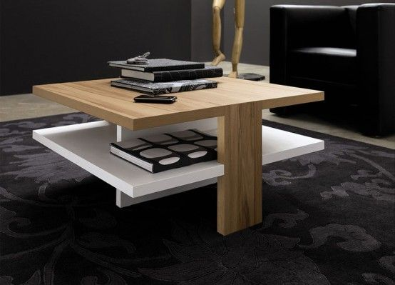 Sovremennyj Zhurnalnyj Stolik Stilnyj Gostinaya Ct 130 From Hulsta 6 554x399 Modern Living Room Table Contemporary Coffee Table Coffee Table Wood