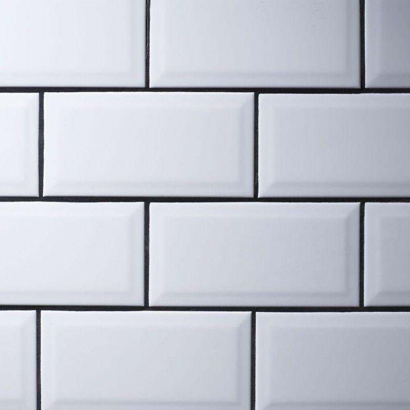 Metro White Wall Tiles 10 X
